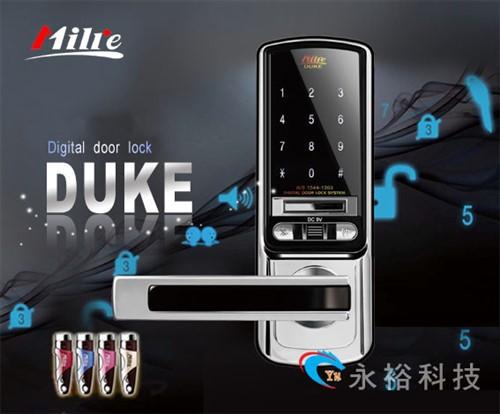 防止高压电击回路设计 ■ 关门后自动上锁 ■ 密码背光 led 灯